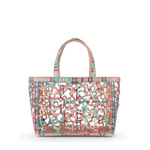 Medium multicolored Kaos Shock Tote bag