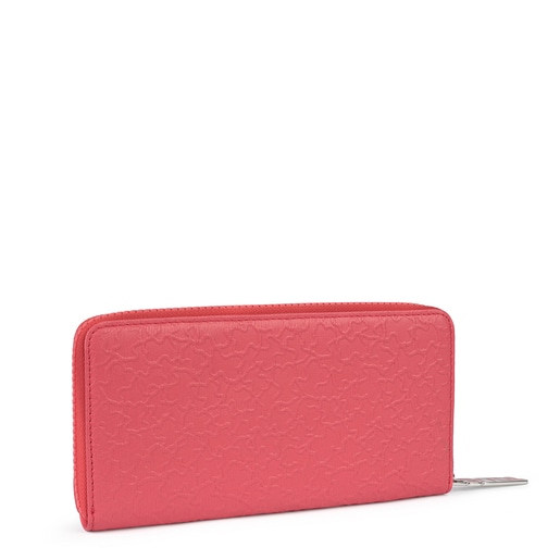 Medium fuchsia leather Sira wallet
