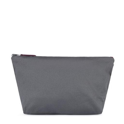 Bolsa mediana Kaos Shock Reversible burdeos-gris