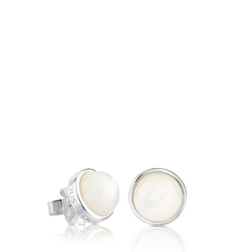 Boucles d'oreilles TOUS Nacars en Argent