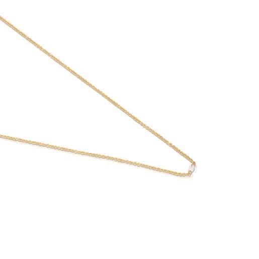 Collar ATELIER Diamonds de Oro con Diamante de talla de rosa
