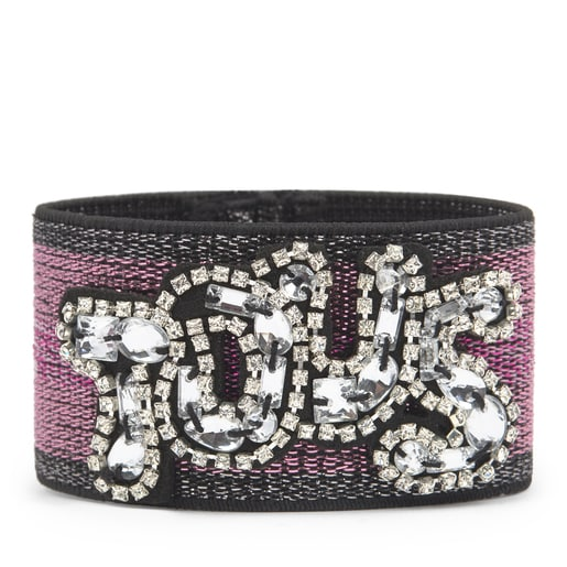 TOUS elastisches Armband in Pink