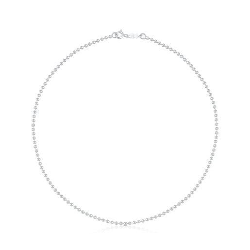 Cadena TOUS Chain de plata con bolas de 2.2mm, 40cm.