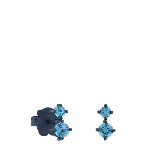 Tytan Earrings with Topaz