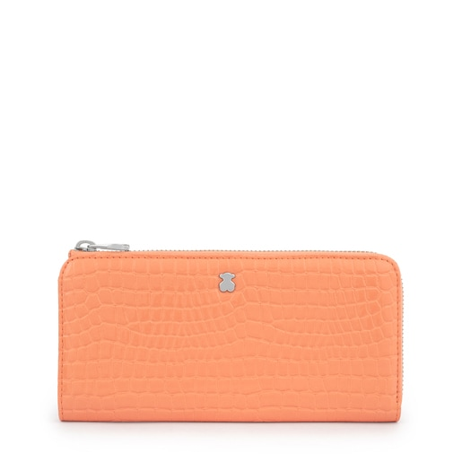Medium Orange Dorp Exotic Wallet