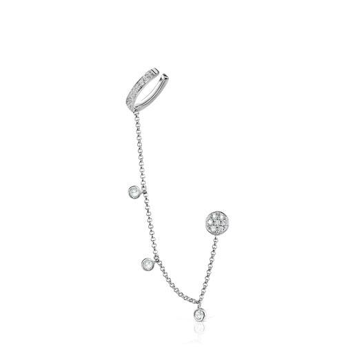 Boucles d'oreilles Alecia en Or blanc avec Diamants