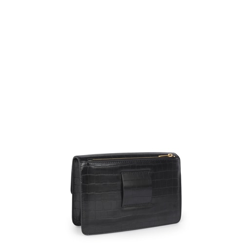 Black small Hold Exotic crossbody bag