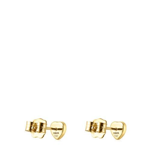 Σκουλαρίκια Glory από Χρυσό και Αμέθυστο