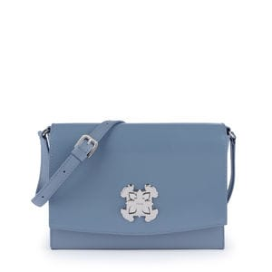 Medium blue Leather Rossie Crossbody bag