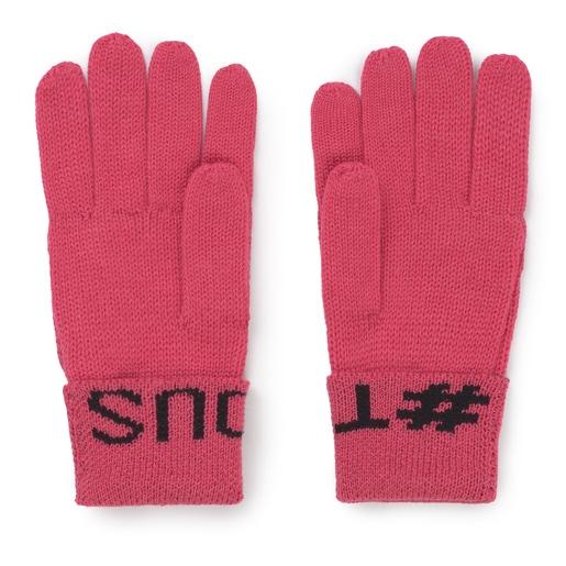 Φούξια Γάντια Tous Lovers