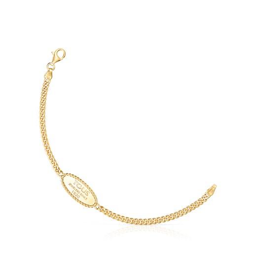 Silver Vermeil TOUS Minne Bracelet