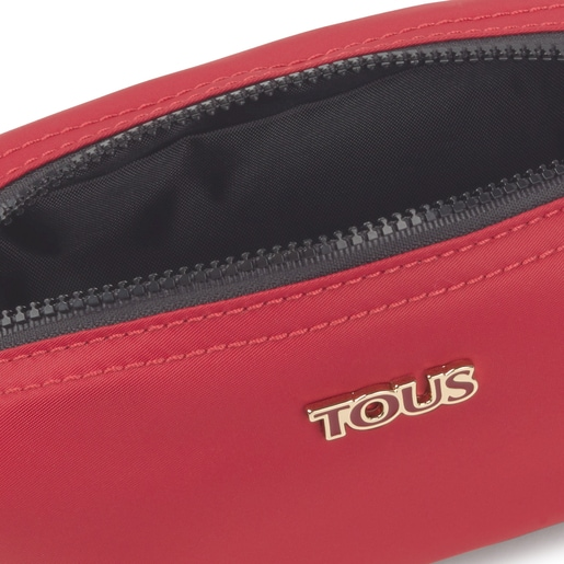 Medium red Shelby Toiletry bag