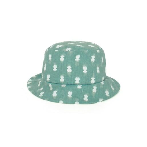 Gorro de praia menino Pin up-Tai Verde