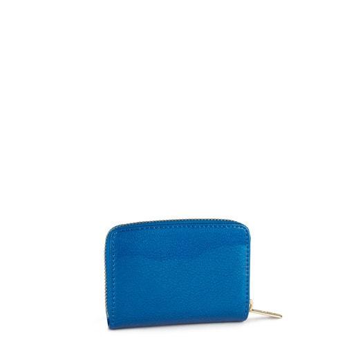 Medium blue Dorp Change purse