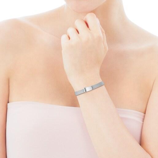 Bracelet Mesh en Acier