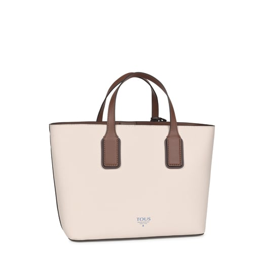 Small beige and brown TOUS Essential Tote bag