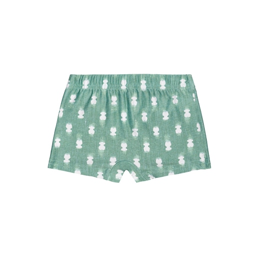 Fato de banho boxer Pin up-Tai Verde