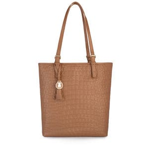 Brown Leather Sherton Shopping bag