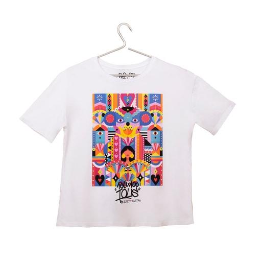 White T-shirt Tous Melissa Elyely