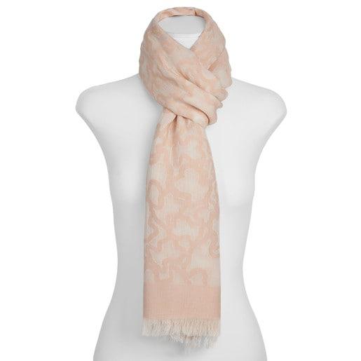 Foulard Kaos en color rosa