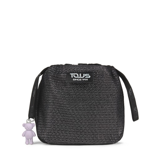 Ina toiletry necesser black and gray