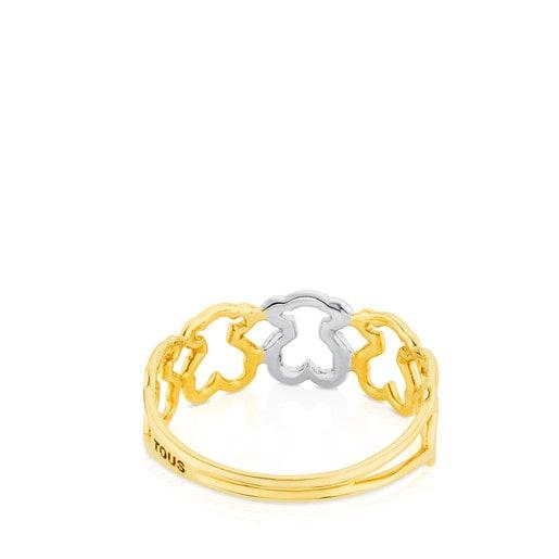 Ring Silueta aus Gold