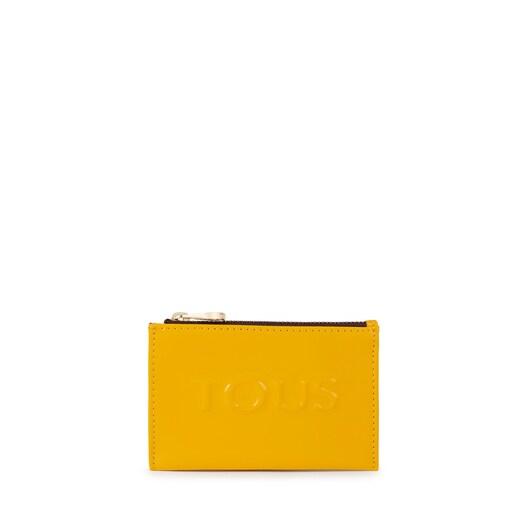 Yellow Dorp Change purse-cardholder