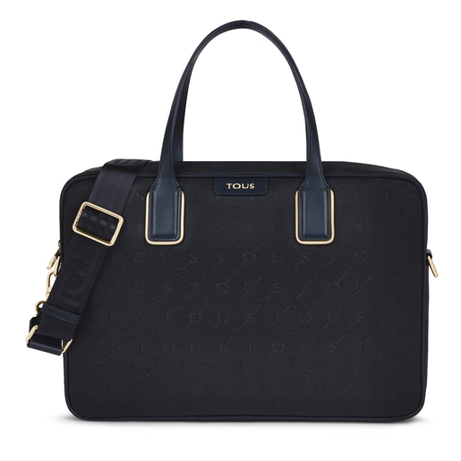 Navy blue Script Day Briefcase