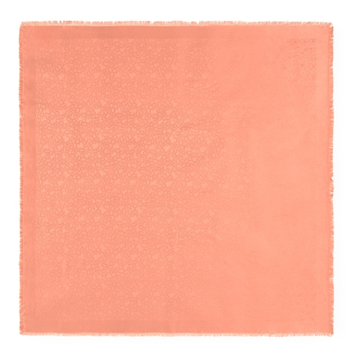 Foulard Kaos Mini Jacquard Naranja