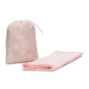 Muse muslin blanket with gauze cover in pink