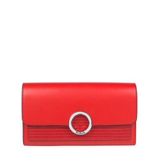 Medium red Audree Wallet
