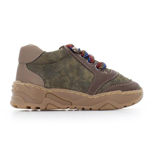 Run casual boots in Green