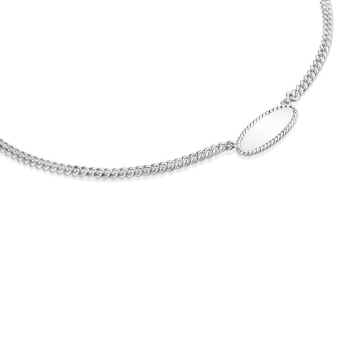 Silver Minne Necklace
