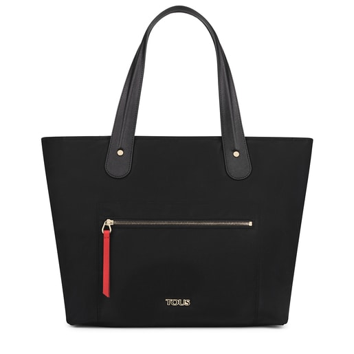 Large black Shelby Tote bag