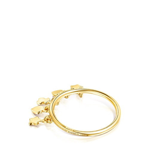 Anillo Cool Joy de plata vermeil