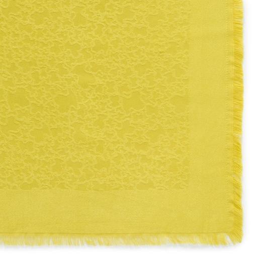 Pistachio Kaos Mini Jacquard scarf