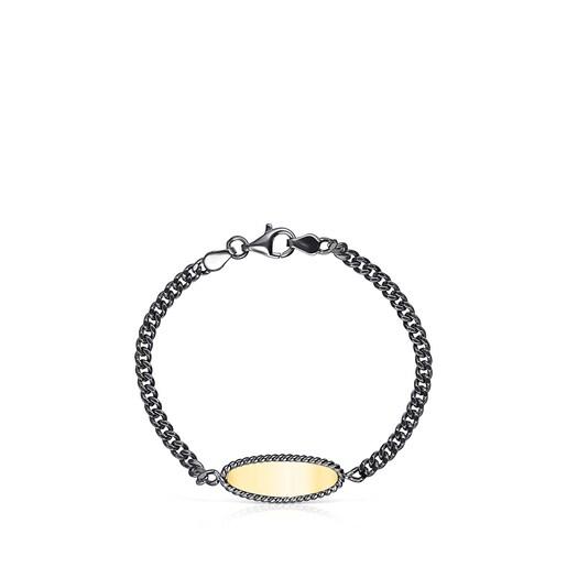 Dark Silver and Silver Vermeil Minne Bracelet