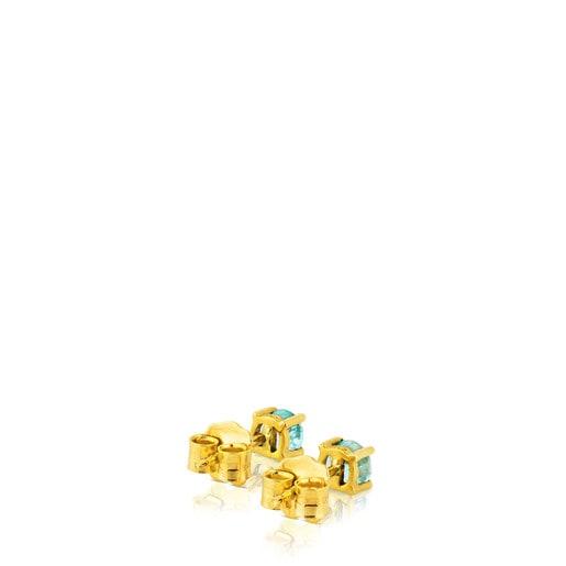 Pendientes Mix Color de Oro y Apatito