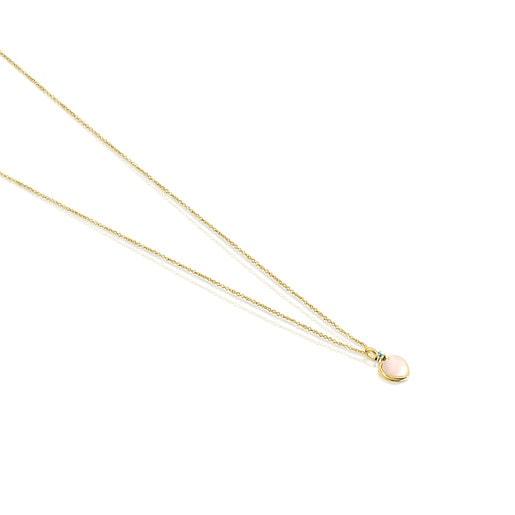 Halskette TOUS Color aus Gold mit Opal und Topas