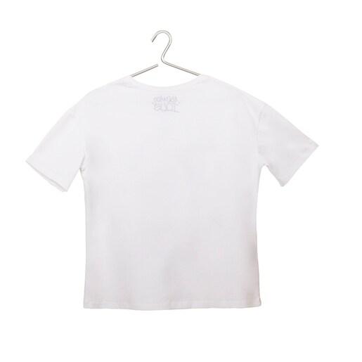 White T-shirt Tous Paula Martín