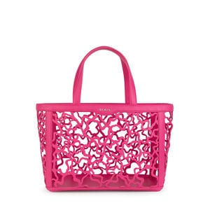 Medium fuchsia Kaos Shock Tote bag