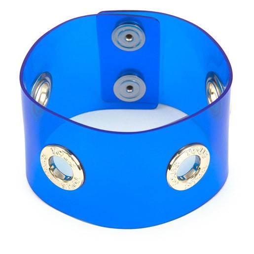 Χειροπέδα Fiocchi από βινύλιο σε μπλε χρώμα