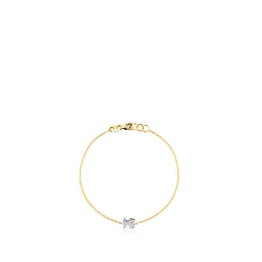 Pulsera Icon Gems de Oro y Diamantes