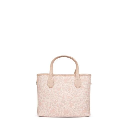 Cabàs petit Kaos Mini de Lona de color rosa