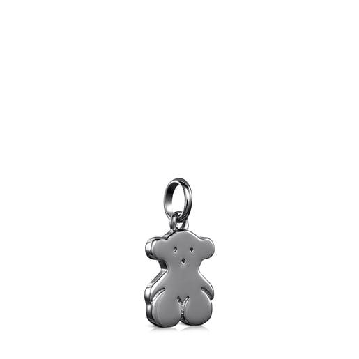 Μενταγιόν Sweet Dolls αρκουδάκι από Ασήμι Dark Silver