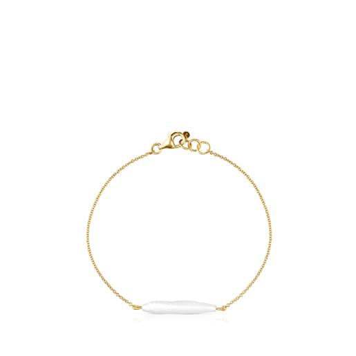 Bracelet Luz en Or et Perle