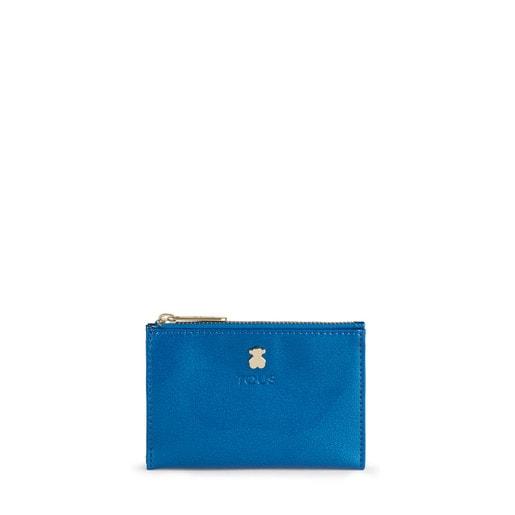 Porta-moedas e porta-cartões Dorp azul