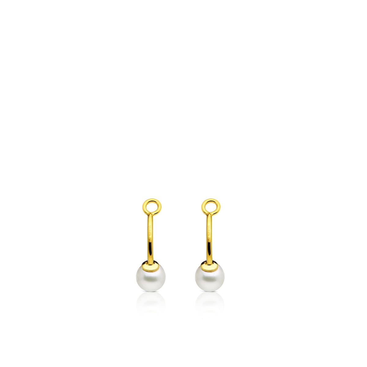 Gold TOUS Pearl Earrings extension Pack with Pearl