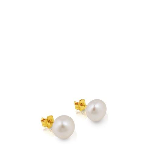 Aretes TOUS Pearls de Oro