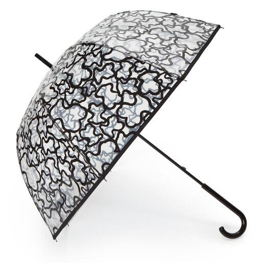 Paraguas grande Kaos transparente